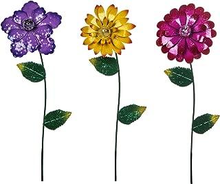 Best large metal yard flowers Reviews