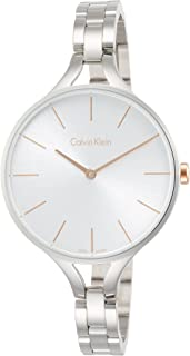 Calvin Klein Women's Analogue Quartz Watch with Stainless Steel Strap K7E23B46