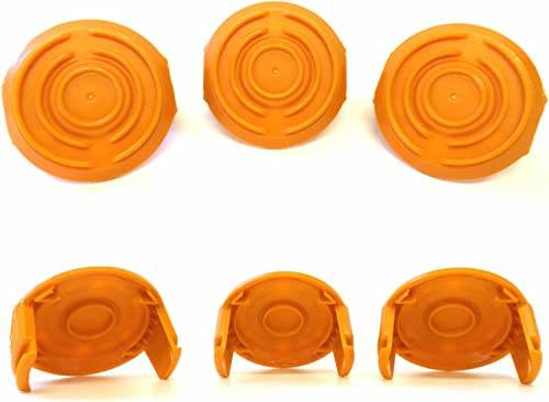 lowest WORX WA6531 discount GT Trimmer new arrival Replacement Spool Cap Covers (3 Pack) online sale