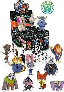 Disney Zootopia Mystery Mini Toy FIgures (4 Pack)