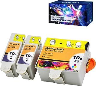 خراطيش حبر متوافقة مع كوداك 10XL 10B 10C ESP 3250 (2 أسود، 1 لون) تستخدم لـ Kodak 5100 5300 5500 ESP3250 ESP5250 ESP3 ESP5...