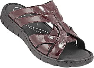 071-1966 Josef Seibel Ladies Sandals Nappa Leather Bordo 37