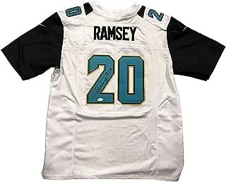 Autographed Jalen Ramsey Jersey - Away White - JSA Certified - Autographed NFL Jerseys