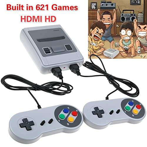 818ff3a5b0e0c Mini Retro 8Bit HDMI Classic Game Console Entertainment System w  621 Games