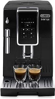 Delonghi super-automatic espresso coffee machine with an adjustable grinder, milk..