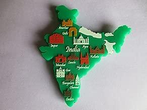 Memory Marg India Silicon Fridge Magnet (Green)