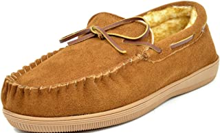 Men's Fur-Loafer-01 Suede Slippers Loafers Shoes