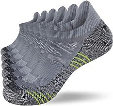 Fioboc Sneakersokken voor heren en dames, 6 paar, hardlopen, korte sportsokken, low cut, trainer, halfsokken, performance ...