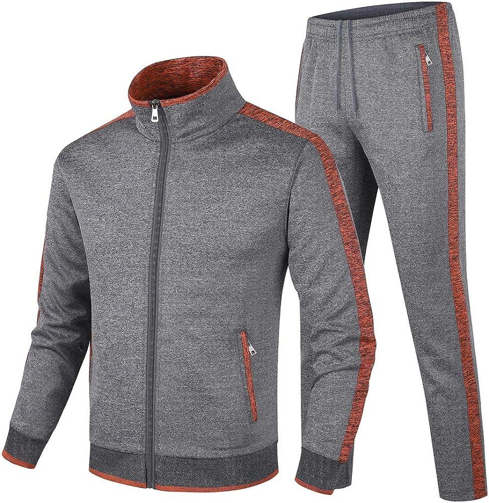 Popular standard Guanzizai Men's half Casual Tracksuit Sleeve Long Athletic Sweatsuit