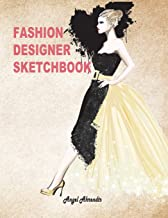 Fashion Designer Sketchbook: Women figure sketch different posed template will easily create your fashion styles (Fashion Sketch)