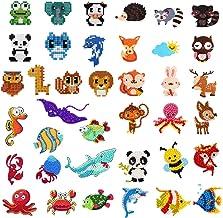 39Pcs 5D Diamond Painting Stickers Kits for Kids, Creatiee DIY Art Craft Animal & Sea World Painting with Diamonds, Paint ...