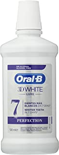Oral-B 3D - Biały płyn do płukania ust Luxe Perfection - 500 ml