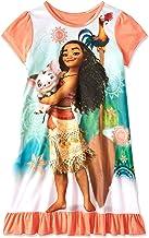Disney Princess Moana Girls Short Sleeve Nightgown Pajamas
