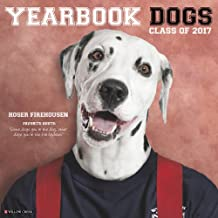 Yearbook Dogs 2017 Wall Calendar