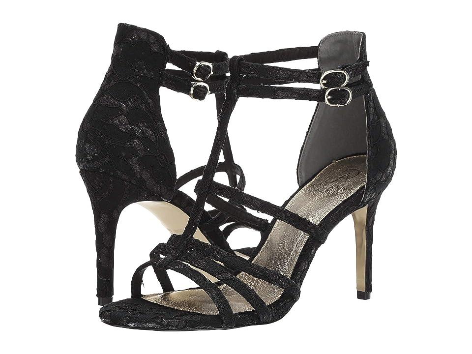 Adrianna Papell Adara Heeled Sandal (Black) High Heels