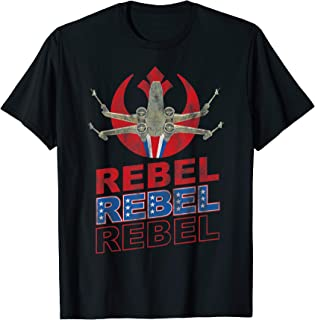Rebel Alliance X-Wing Starfighter Americana T-Shirt