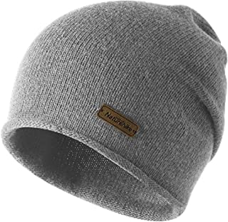 Triwonder Winter Knit Beanie Skull Cap Wool Warm Slouchy Hat Watch Hat Men Women
