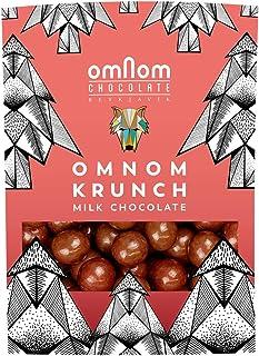 Omnom Krunch - Milk Chocolate Covered Malt Balls - 120gr, Made in Iceland 2 PACK