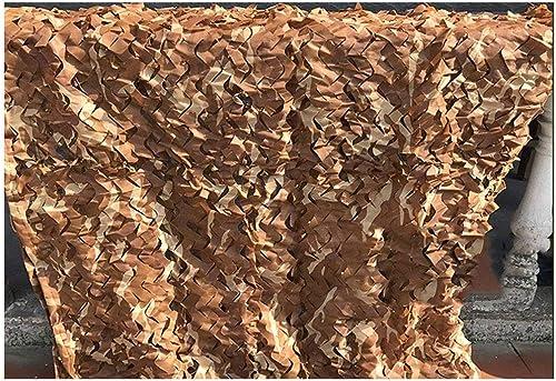 Filet de camouflage de 4mx3m, filet de camouflage extérieur pour camping militaire chasse pêche de tir (disponible en différentes tailles, couleur gris camo désert) ( taille   510M(16.432.8ft) )