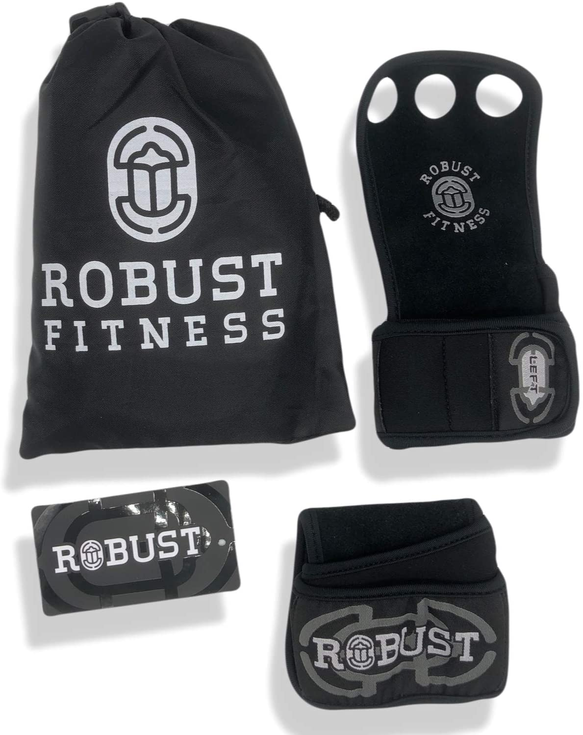 ROBUST FITNESS Genuine free Leather Hand Cross-Training Pu for Grips Dealing full price reduction