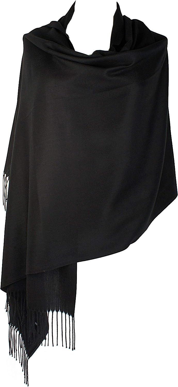 Scarves for Women, Cashmere Feel Pashmina Shawl Wraps Soft Warm Blanket Womens Winter Scarf