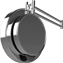 360 Degree Mirror - Full View of Your Head | Trim and Fade Hands Free | 1x & 5x Magnifying | Hair Cut | Neck Shave | Self Groom | Swivel Adjustable | Wall Mounted | My 360 Mirror