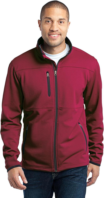 Port Authority Men's Tall Pique Fleece Jacket
