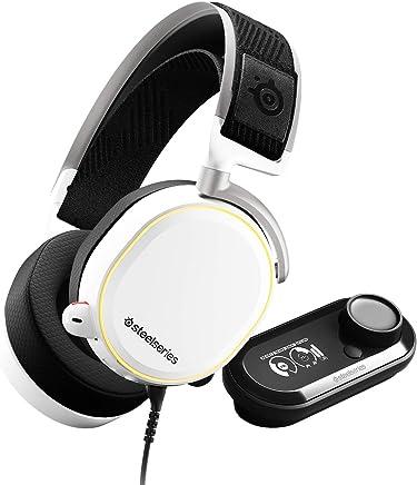 SteelSeries Arctis Pro GameDAC, Cuffie da Gioco, Audio ad Alta Risoluzione Certificato, ESS Sabre DAC, Cablata, Bianco [Edizione 2019] - Trova i prezzi più bassi