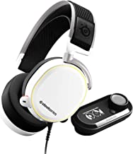 SteelSeries Arctis Pro GameDAC - Gaming Headset - Certified Hi-Res Audio - ESS Sabre DAC - White