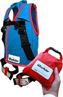 WhizRider, Most Compact, Safe Portable Car Seat Option Ever Designed (Small) - Award-Winning Harness-Style Restraint Syste...