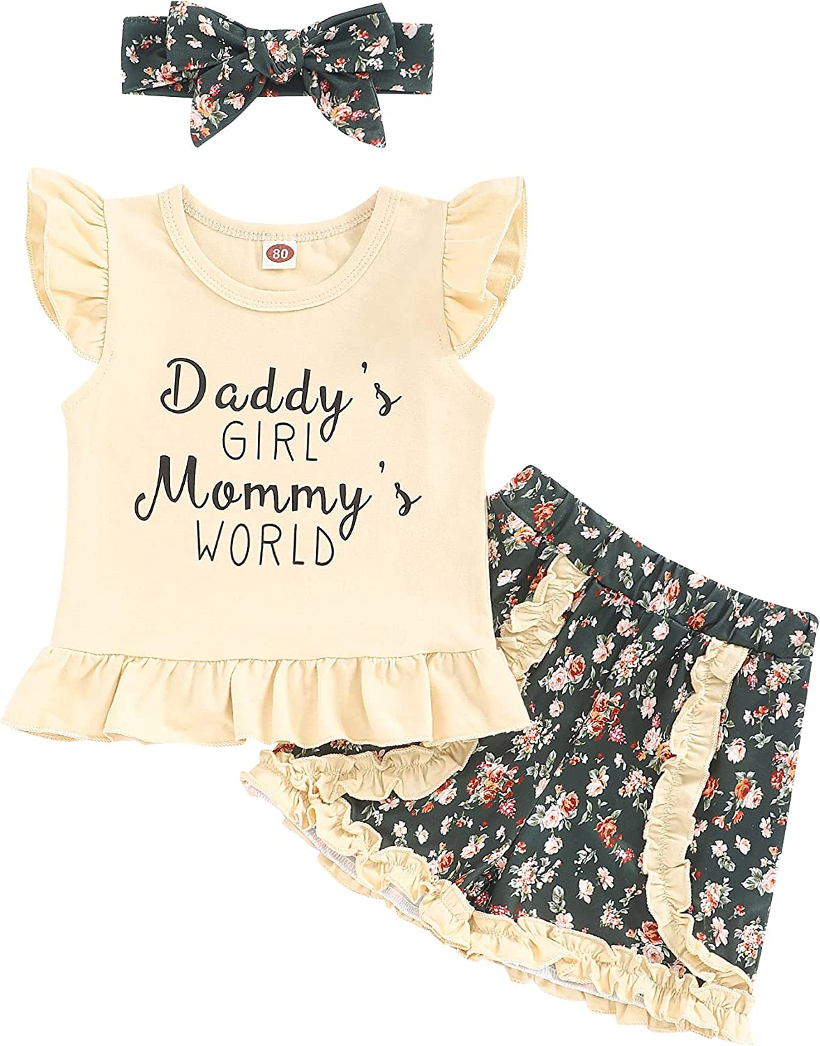 Philadelphia Mall Toddler price Girls Clothes Outfits Cute Floral Baby Girl Sleeveless F