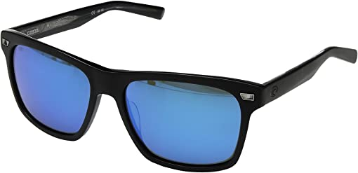 Matte Black Frame/Blue Mirror 580G