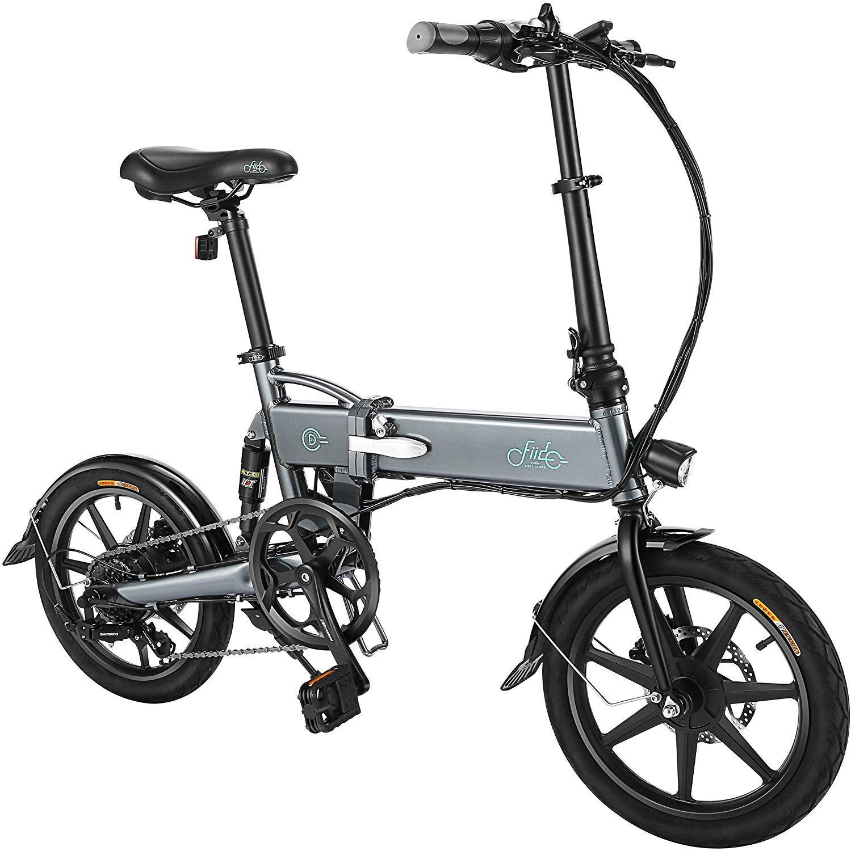 FIIDO D2s Bicicleta eléctrica Plegable para Adultos, 250W, 16 ...