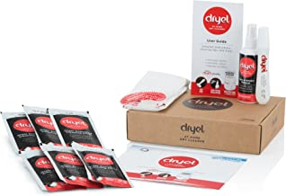 dryel - CRB-01170v2 Dryel At-Home Dry Cleaner Starter Kit, Includes Dry Cleaning Cloths and To-Go Stain Removal Pen - 6 Lo...