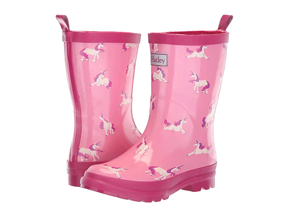 Hatley Kids Limited Edition Rain Boots (Toddler/Little Kid) (Majestic Unicorns Pink) Girls Shoes