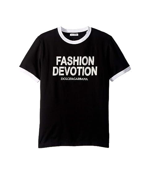Dolce & Gabbana Kids Fashion Devotion T-Shirt (Little Kids)