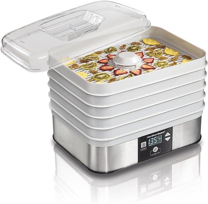 Hamilton Beach 32100A Digital Food Dehydrator - 48 Hour Timer