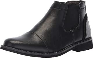 DEER STAGS Unisex-Child Marcus Memory Foam Dress Comfort Cap Toe Chelsea Boot