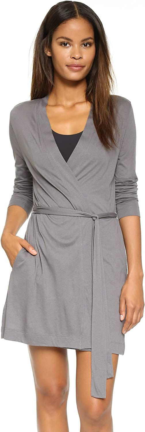 Yummie All items free shipping Women's Size Pima Jersey Short Robe Max 89% OFF Plus