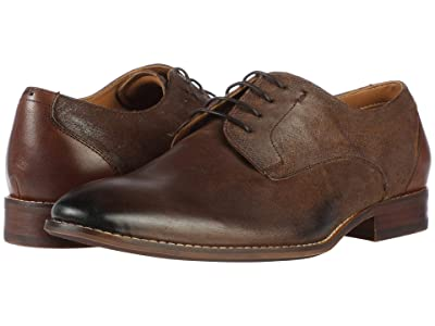 Steve Madden Dixxen Oxford (Brown Leather) Men