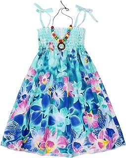 Cotrio Trajes de vestido floral de verão para meninas boho Roupas de verão para crianças pequenas e infantis Bohemia Rainb...