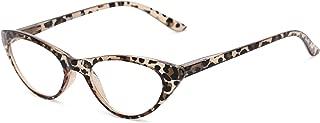 Readers.com Reading Glasses: The Brit Reader, Plastic Cat Eye Style for Women