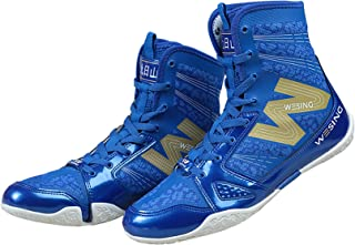 RTY High Top Boxing Shoes, Unisex,Blue,43