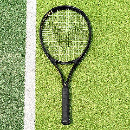 Vermont Archon Tennis Raquette   Raquettes de Tennis Elite Performance   Grand Chelem de qualité   VPG Elite Tek Graphite Construction (Poignée L2 (106-108mm))