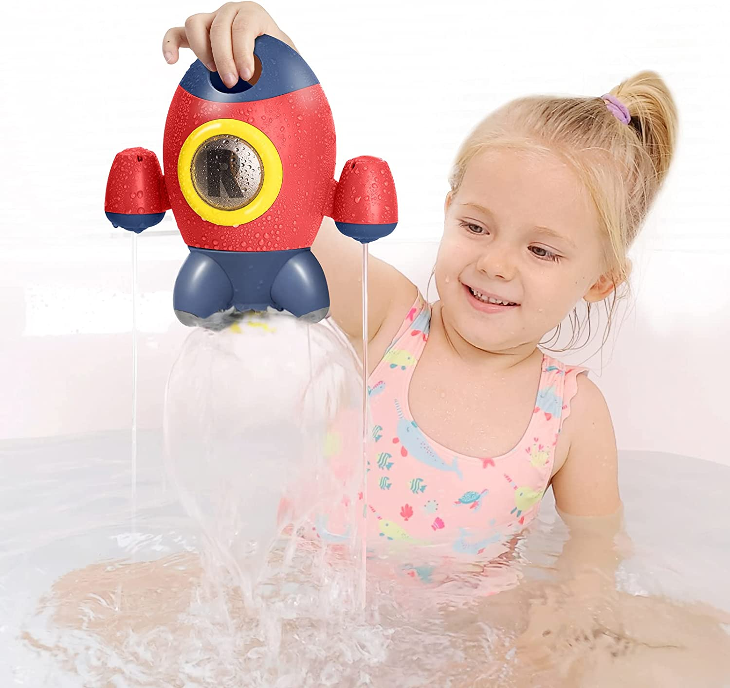 Ranking TOP3 HEMRLY Bath Toys for Toddlers Rocket Space Baby Popular