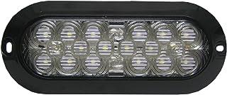 """Maxxima M63320 18 LED White 6"""" Oval Surface Mount Backup Light"""