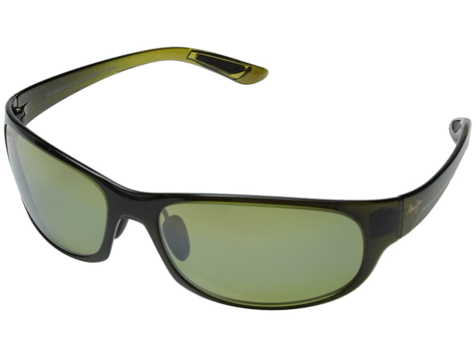 Maui Jim Twin Falls (Olive Fade/Maui HT) Sport Sunglasses