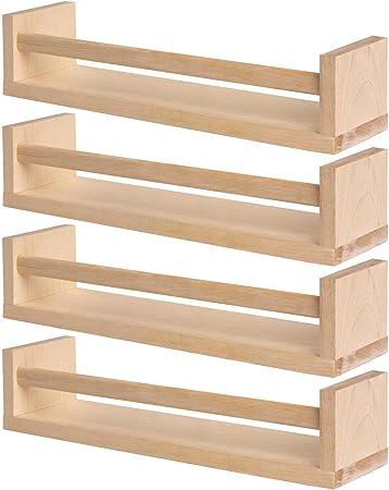 BEKVAM - Estante de madera para especias (2 unidades, para ...