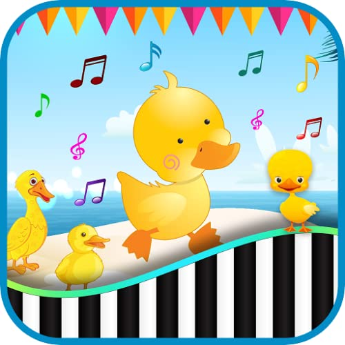 duck sounds Baby Piano Duck Sounds Games - Animal Noises Quack