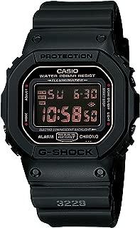 Casio G-Shock Matte Black Red Eye DW5600MS-1 Japan import